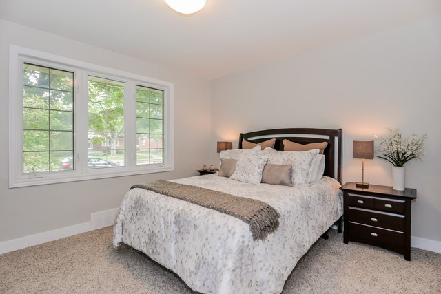 Staged Glenwood Bedroom