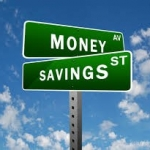 signs that say money and savings