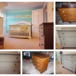 Interior design babies room project