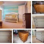 Interior design babies room project