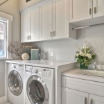 Victorian laundry room