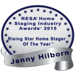 Rising Star home staging award