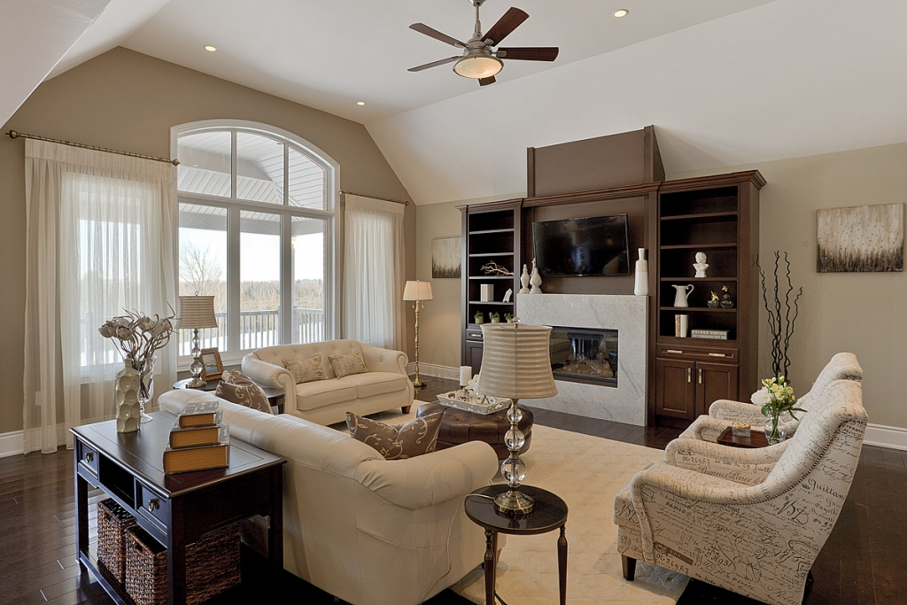 Model home staging