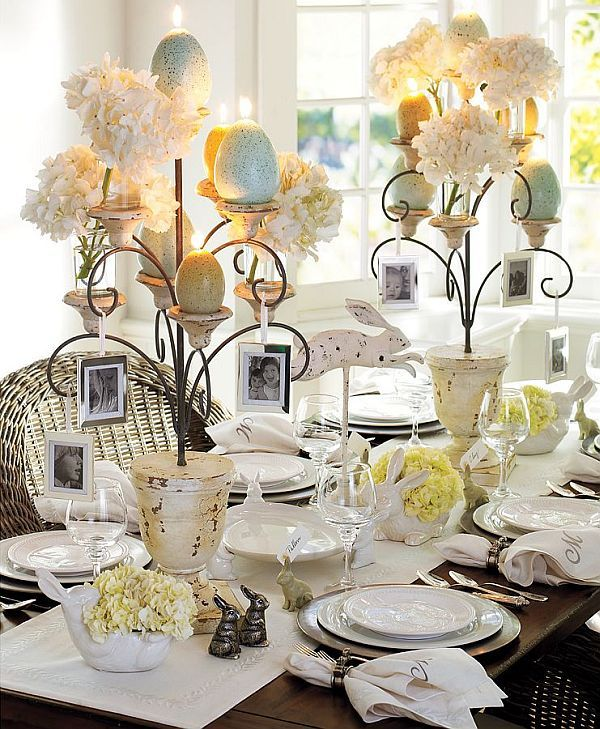 What will your tablescape look like this Easter/Spring?