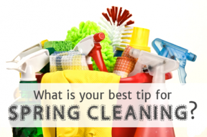 March is decluttering month