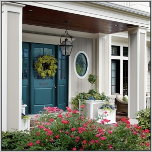 homestaging, curb appeal, front door colour
