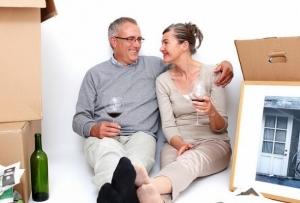 downsizing couple