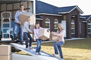Moving house. Home staging