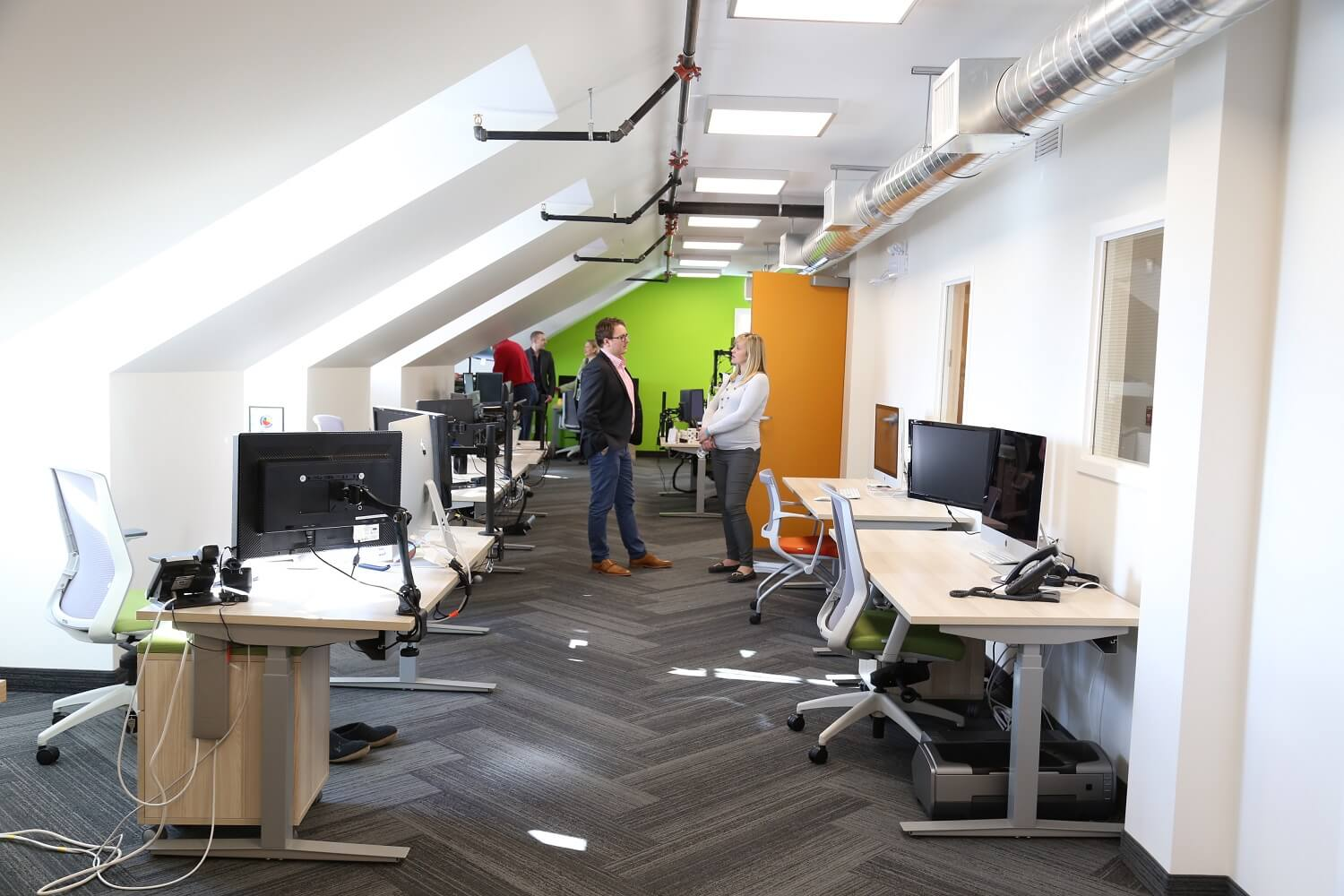 Redesigning A New Office For Intrigue Media Centre Staged