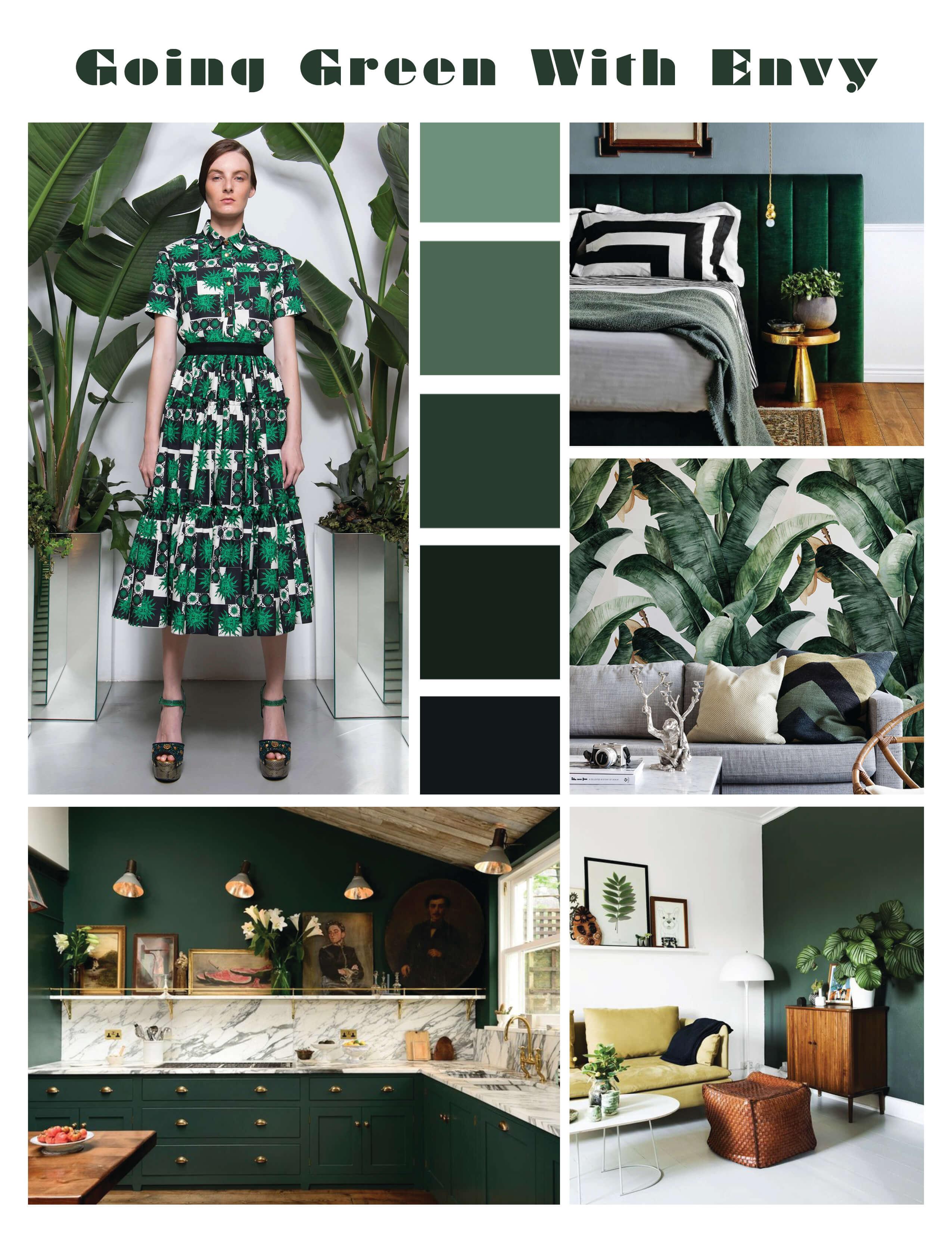 green home design fashion