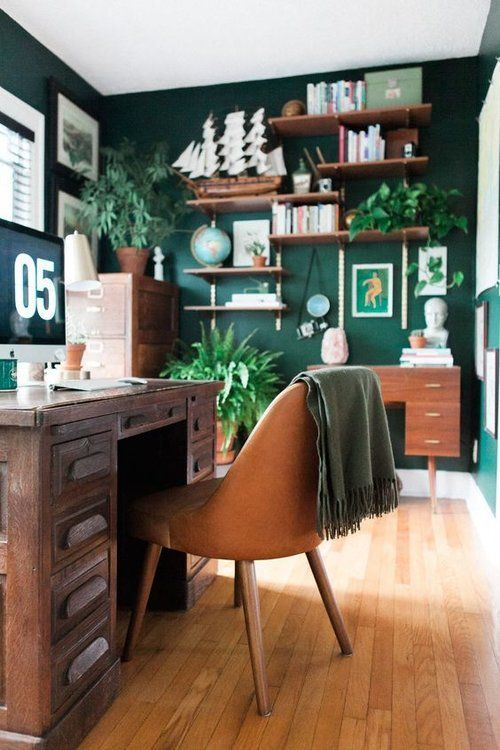 Motivating colours for your home office