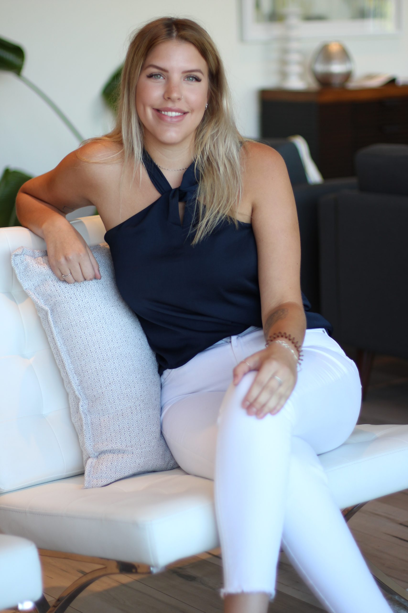 Brittany Langlois, lead stylist and decorator, project manager, Centre Staged