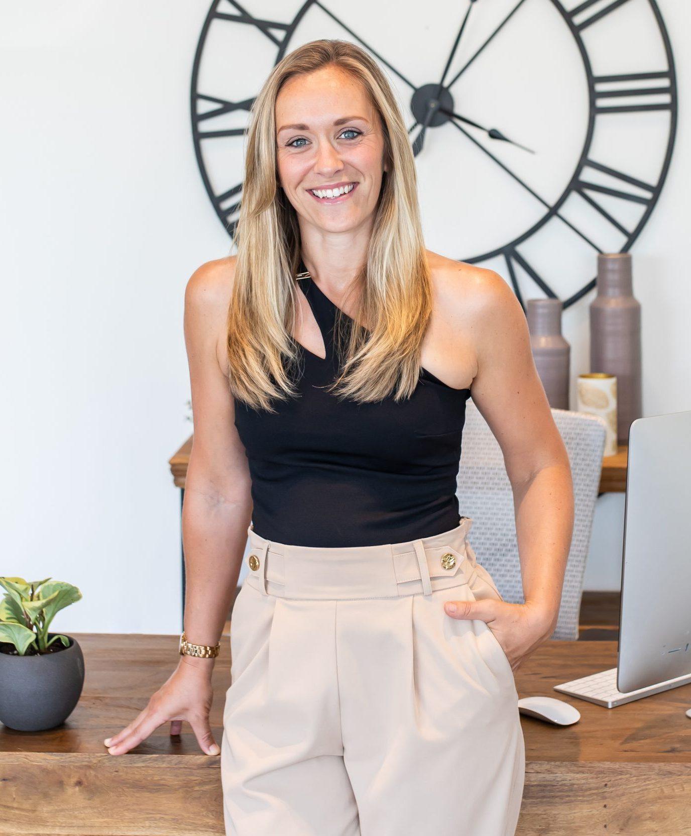 Jenny Hilborn, founder and principal designer at Centre Staged Designs