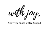written by Centre Staged Designs, written with joy, joyful blog