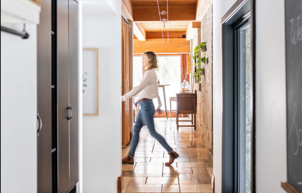 Connect with your home. walk around