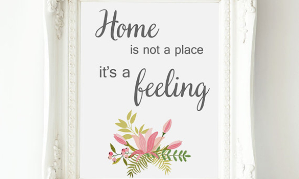 Have we forgotten the meaning of home?