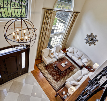Stunning Country-Home Staging